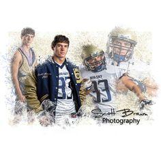 Scott Breum Photography creates sports composites for every sport any season! Football Senior Pictures, Football Photos, Football Boys, Sports Pictures, Sports Team Photography, Senior Boy Photography, Photography Editing, Photo Editing, Senior Guys