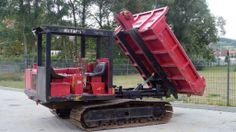 Kettendumper günstig zu verkaufen 12.900,- € netto mit Abrollmulde #baumaschinen #trackeddumper http://www.ito-germany.de/baumaschinen/angebote/dumper-zu-verkaufen/benford-terex-6000-minidumper/ #raupenkipper  #constructionequipment