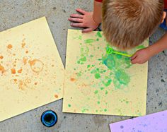 Bubble Blowing Craft for kids!