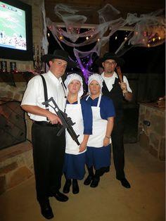 Amish Mafia. DIY Halloween Costume Ideas.