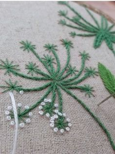 Wonderful Ribbon Embroidery Flowers by Hand Ideas. Enchanting Ribbon Embroidery Flowers by Hand Ideas. French Knot Embroidery, Crewel Embroidery Kits, Embroidery Letters, Embroidery Works, Silk Ribbon Embroidery, Hand Embroidery Designs, Cross Stitch Embroidery, Embroidery Ideas, Flower Embroidery