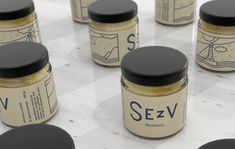 Maliarts - SEZV SEZV is a brand of handmade mexican mustards with a french touch. We develop the visual identity inspired by the Breton heritage of its creator. A lighthouse in the middle of a rough sea dominate the landscape in a rainy day. Using a dark blue as main color transports us to a place linked with deep traditions. Rough Seas, Main Colors, Visual Identity, Lighthouse, The Creator, Dark Blue, Middle, Mexican