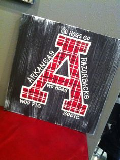 A painting for the Razorbacks!!