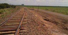ferrocarriles del sud: TRES DETENIDOS POR EL ROBO DE TABLONES DE SEGURIDA...