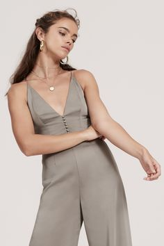 385a9e6ca07d FINDERS KEEPERS SPECTRAL JUMPSUIT khaki