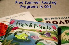 Stop the Summer Slide: Take Advantage of These Free Summer Reading Programs ~ Lille Punkin