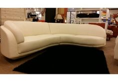 Arabesque Sectional Full Top Grain Leather by W.Schillig