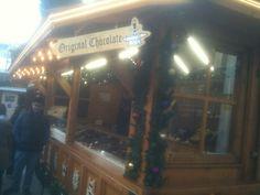 Chocolate stall, Christmas Market