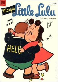 Little Lulu #69 - Published March 1954 by Dell/Gold Key