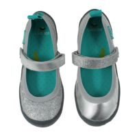 Dance in Twinkle Silver  CHOOZE Shoes: Our shoes are different. Always. The left shoe is always different from the right. The collection features fun and colorful vegan shoes for toddlers, kids, youth, and women. Sizes range from 4 Toddler to 11 Women's.
