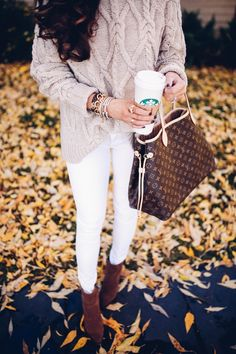 SWEATER: H&M (similar here & here ) | DENIM: Frame (similar here) | BOOTIES: Sam Edelman ...