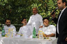 """La nostra cucina ha valori assoluti, è la narrazione di sofferenza, gioia e riscatto di una terra senza la quale l'Italia, l'Europa e l'intero globo sarebbero più poveri e tristi. L'Expo è l'occasione per dire tutto questo al mondo intero"""". Ringrazio Peppe Zullo."""