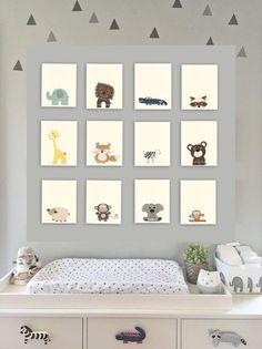 Baby Nursery Art / Nursery Art Decor / close-up by DesignByMaya