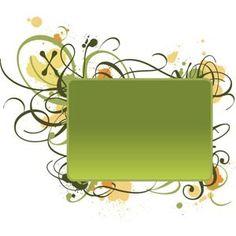 green lines design elements pattern banner vector
