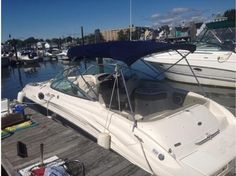 2007 Sea Ray 270 Sundeck -Single, I/O, Gas Original Owner!  2007 Sea Ray 270 Sundeck, Only one owner since new and maintained annually. Perfect large family day boat, great for tubing, skiing, fishing or just floating. Garmin GPS, VHF Radio, Compass, Stereo with CD Changer, Bimini Top, Cockpit Cover, Bow Cover, Snap-In Carpets and Porta-Potti. - See more at: http://www.caboats.com/used-boats/8902.htm