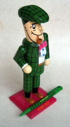 Nick Knatterton - Advertising Figure