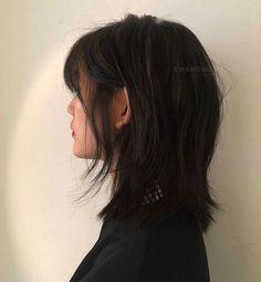 Cut My Hair, Hair Cuts, Asian Short Hair, Edgy Short Hair, Japanese Short Hair, Girl Short Hair, Medium Hair Styles, Long Hair Styles, Mullet Hairstyle