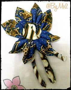 Handmade by Me : Brooch    Batik