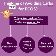 Doctors often recommend women with PCOS to lower or even eliminate carbohydrates from their diet to help with blood sugar balance, insulin resistance and weight loss. . But here's the deal. . Carbs aren't bad. They are not the cause of insulin resistance and this single macronutrient isn't causing your weight gain.🙅 Nutrition Tips, Diet Tips, Weight Gain, Weight Loss, Polycystic Ovarian Syndrome, Muscle Power, Pcos Diet, Insulin Resistance, Blood Sugar