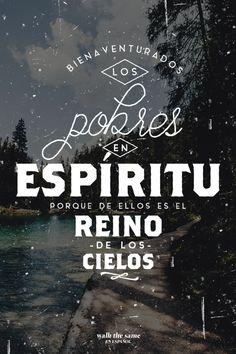 Bienaventurados los pobres en espiritu