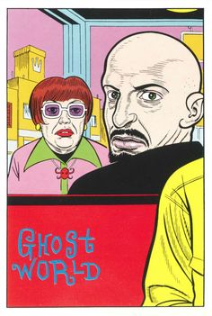 """wambamashleyanne: """" By Daniel Clowes, From the Eightball Postcards of """" Comic Books Art, Comic Art, Daniel Clowes, Bloom Book, Ghost World, Tom S, Illustrations, Pop Art, How To Draw Hands"""