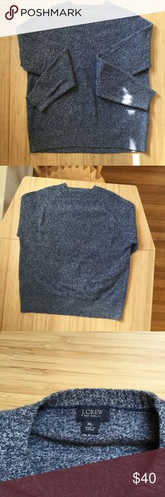 J. Crew Men's Lambswool Marled Sweater Sz XL Good used condition, no holes or stains. J. Crew Sweaters Crewneck