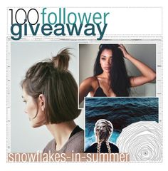 """100 followers giveaway!! ✧"" by the-feminist-tippers ❤ liked on Polyvore featuring art"