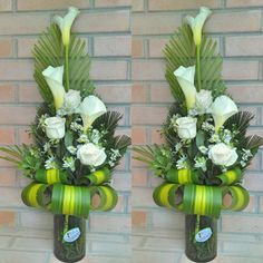 We have online Flower Delivery to Bangalore with Off. Send flowers to Bangalore via local florists with same-day & midnight flower bouquet home delivery. Funeral Floral Arrangements, Tropical Floral Arrangements, Creative Flower Arrangements, Ikebana Flower Arrangement, Church Flower Arrangements, Church Flowers, Beautiful Flower Arrangements, Funeral Flowers, Floral Centerpieces