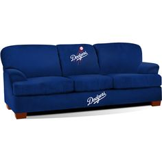Los Angeles Dodgers First Team Microfiber Sofa - MLB.com Shop