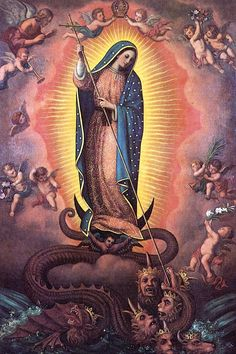 Again this year, I want to present this beautiful Akathist to the Blessed Virgin Mary of Guadalupe. Akathist to Our Lady of Guadalupe 1 Kontakion 1 To Thee, o… Blessed Mother Mary, Divine Mother, Blessed Virgin Mary, Catholic Art, Religious Art, Catholic Daily, Religious Images, Roman Catholic, Immaculée Conception