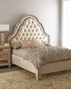 Melinda Bedroom Furniture at Horchow. (This bed is also available at Verbarg's)