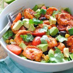 Chipotle Shrimp Salad Bowls Recipe - ZipList