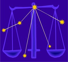 Libra: Crafted from claws - Scaled to balance the zodiac - And skies around