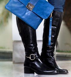 Carteira azul cobalto  #guilhermina #sapatodeluxo #guilhermina_shoes #trend #moda #calcadosfemininos #shoes