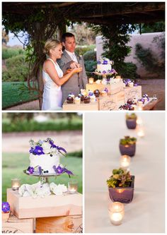 Santa Ynez California Small Vineyard and Private Farm Wedding Photography - Cake Cutting and Decor  Boutique Destination Wedding Photography by Paul & Jewel - International Lifestyle Photographers