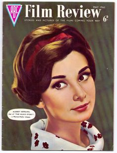 Audrey Hepburn - Film Review Magazine Cover [United Kingdom] (May 1960)