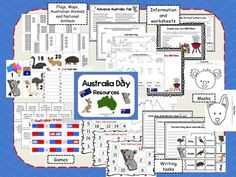 Celebrate Australia Day - resources and activities Advance Australia Fair, Australia School, Work In Australia, Year 4 Classroom, First Day Of School Activities, Celebration Around The World, World Thinking Day, Australia Animals, Educational Activities