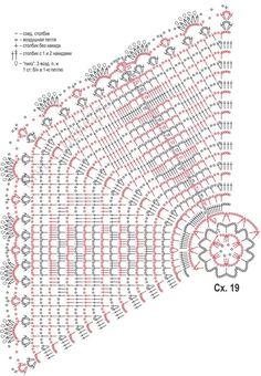 Crochet Mat, Crochet Doily Diagram, Filet Crochet Charts, Manta Crochet, Crochet Doily Patterns, Crochet Pillow, Crochet Doilies, Free Crochet, Stone Rug