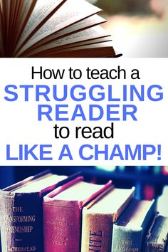 Learn how to teach reading skills to struggling readers! Find help here to teach a struggling reader. First grader not reading? Or any age not reading? Know how to help your child read at home & work on building fluency in struggling readers. Reading Help, Reading Tips, Reading Lessons, Reading Strategies, Kids Reading, Reading Activities, Reading Skills, Guided Reading, Reading Workshop