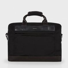 Paul Smith Men's Bags - Black Grosgrain Business Folio