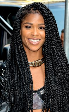 "GRL Singer Simone Battle Dies at 25 Pop singer and former ""X-Factor"" contestant Simone Battle, a member of G., has died, her representatives told ABC News. Summer Hairstyles, Braided Hairstyles, Cool Hairstyles, Curly Hair Styles, Natural Hair Styles, Pelo Natural, Dreadlocks, Beautiful Braids, Natural Hair Inspiration"