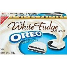 white fudge oreos... mmm!