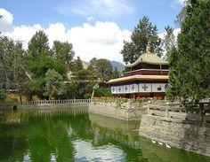 Norbu Lingka | Norbulingka palace, Norbulingka Attractions, Lhasa Norbulingka summer ...