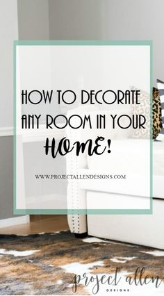 How to decorate, Learn how to decorate any room in your home with this free signature designs style notebook.