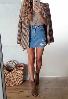 Top 30 office outfits for spring 2019 - summer fashion ideas - - # BüroOutf . - Top 30 office outfits for spring 2019 – summer fashion ideas – – # Office outfits - Mode Outfits, Office Outfits, Casual Outfits, Fashion Outfits, Office Attire, Casual Office, Office Wear, Office Chic, Office Outfit Summer