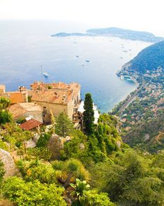Eze - Want to come back to Eze some day. Probably the nicest town in the French Riviera
