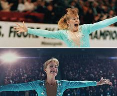 "In the movie, ""I, Tonya,"" the disgraced Portland area figure skater looks back on the 1994 Nancy Kerrigan scandal and her struggles to tell her side. Movies Showing, Movies And Tv Shows, Nancy Kerrigan, Skater Look, Tonya Harding, Requiem For A Dream, Photo Recreation, The Wedding Singer, Cult"