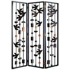 Antique and Vintage Screens and Room Dividers - 1,391 For Sale at 1stdibs - Page 2 Room Divider Screen, Room Dividers, Resin Sculpture, Decorative Screens, Metal Screen, Modern Artists, Different Textures, Home Accents, Cool Furniture