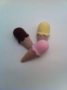 Sommeren starter med en is … | LittleHappyCrochet