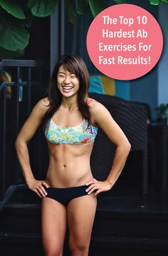 The Top 10 Hardest Ab Exercises For Fast Results! #fitness #fit #exercise #health